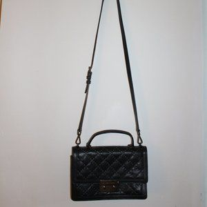 MICHAEL KORS LEATHER BLACK STUDDED PURSE